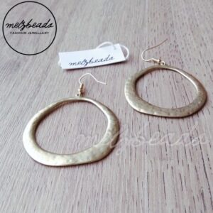 Matt Gold Earrings